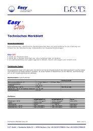 Technisches Merkblatt - Ist-web.com
