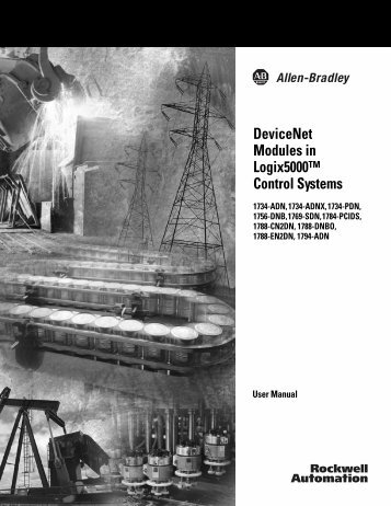 DeviceNet Modules in Logix5000™ Control Systems