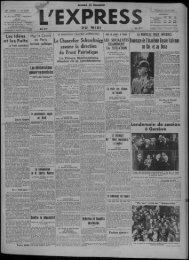 15 mai 1936 - Presse régionale