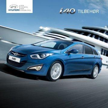 Hyundai i40 tilbehørsbrosjyre