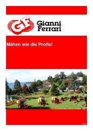 Gianni FERRARI Katalog 2013 - Silent AG