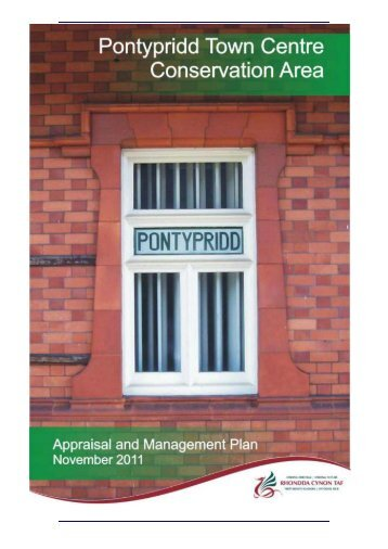 Pontypridd Town Centre Conservation Area Appraisal and ...