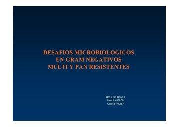 desafios microbiologicos en gram negativos multi y pan resistentes
