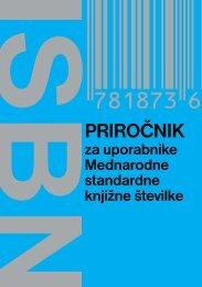 PRIROČNIK - Narodna in univerzitetna knjižnica