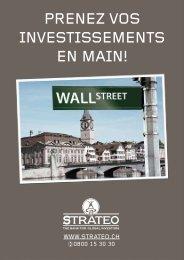 PRENEZ VOS INVESTISSEMENTS EN MAIN! - Strateo