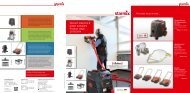 Vacuum cleaners & power sweepers Product range 2013 ... - Starmix