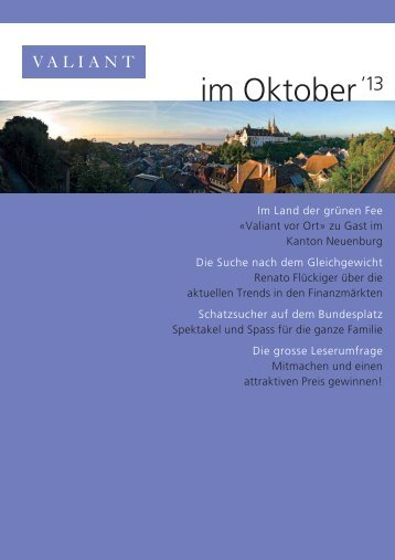 im Oktober '13 (PDF, 1793.2 KB) - Valiant Bank