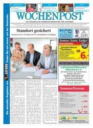Solingen 33-10 - Wochenpost