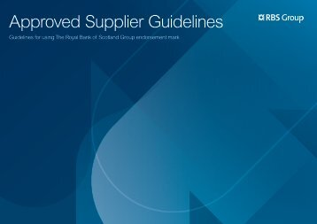 Supplier Excellence Guidelines Approved Supplier Guidelines