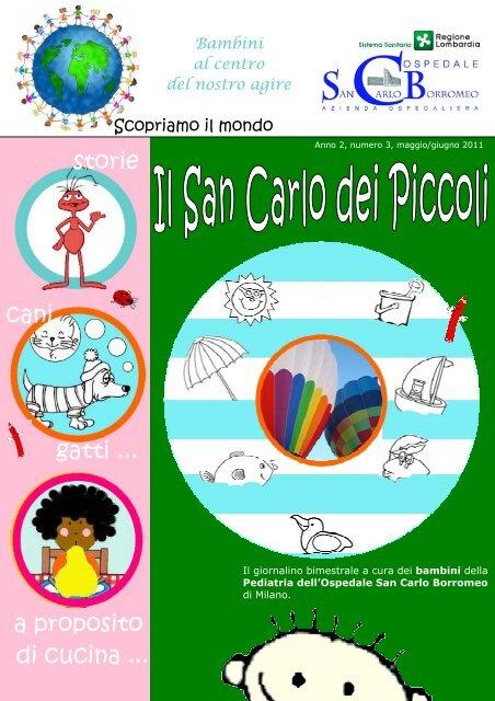 ANNO 2 n. 3 maggio - giugno 2011 - Ospedale San Carlo Borromeo