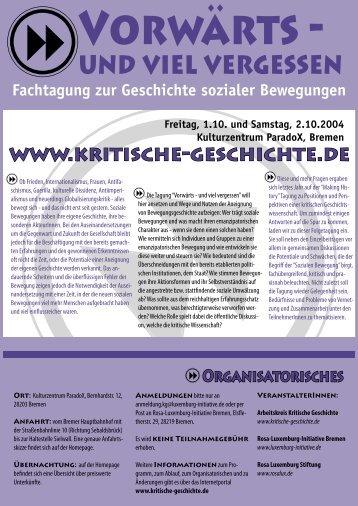 und viel vergessen - Rosa-Luxemburg-Stiftung
