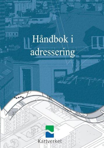 HÃ¥ndbok i adressering (pdf) - Kartverket