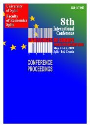 International Conference CHALLENGES OF EUROPE