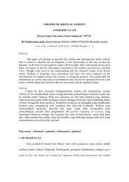 Perspektif Spritual Website.pdf - Universitas Putra Indonesia