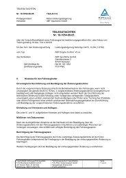 TEILEGUTACHTEN Nr. 10-1054-00-05 - Abt Sportsline