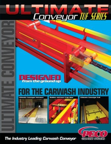 Ultimate Conveyor Large - PECO Car Wash Systems