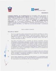 SAT - Coordinación General de Cooperación e Internacionalización ...