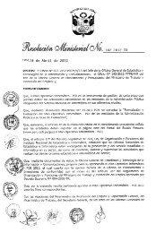 resolucion ministerial nº 102-2012-tr - Portal del Estado Peruano
