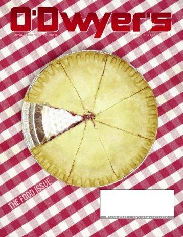 Mar. '13 Food & Beverage PR Magazine (PDF) - Odwyerpr.com