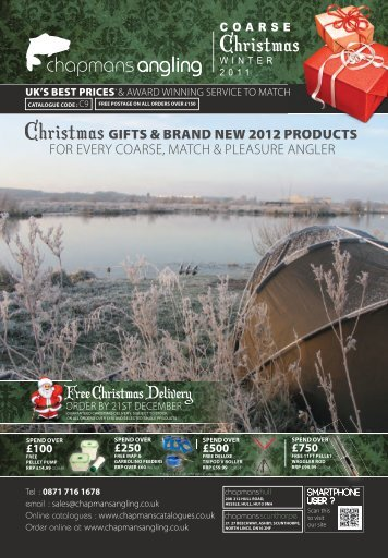 coarse cover Rev 20.indd - Chapmans Angling