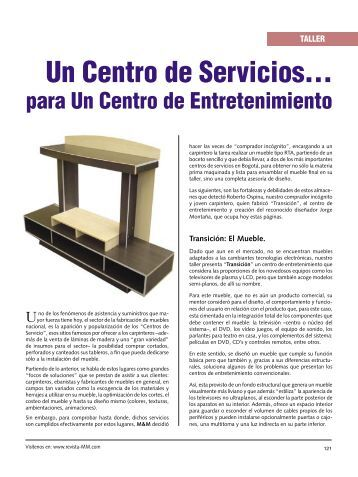 Mueble kit 2011 cmb centro maderero del bricolage for El castor muebles