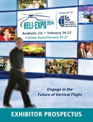 Exhibitor ProsPEctus - Helicopter Association International