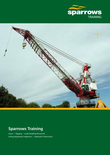 Sparrows Training 8 page brochure (Asia Pacific version)