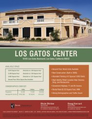 Los Gatos Center 7-21-10.indd - Prime Commercial, Inc