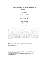 Education, Corruption, and the Distribution of Income - PEGNet