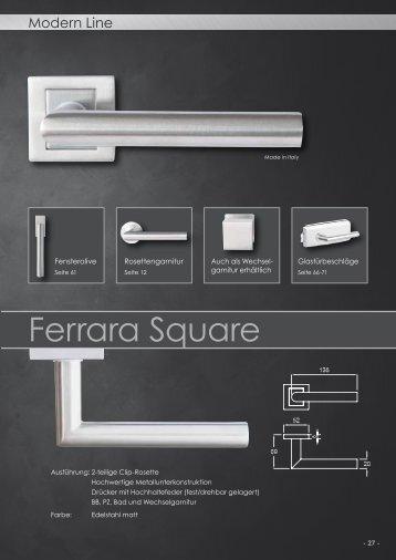 Griffwelt Modern Line Square