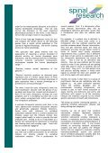Wellness and Chiropractic: - Australian Spinal Research Foundation - Page 2