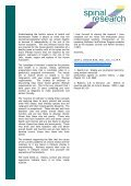 Wellness and Chiropractic: - Australian Spinal Research Foundation - Page 3