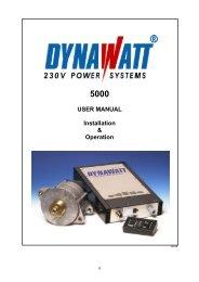 Manual Dynawatt 5000 - LEAB