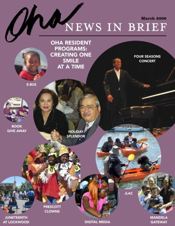 NEws IN bRIEF - Oakland Housing Authority