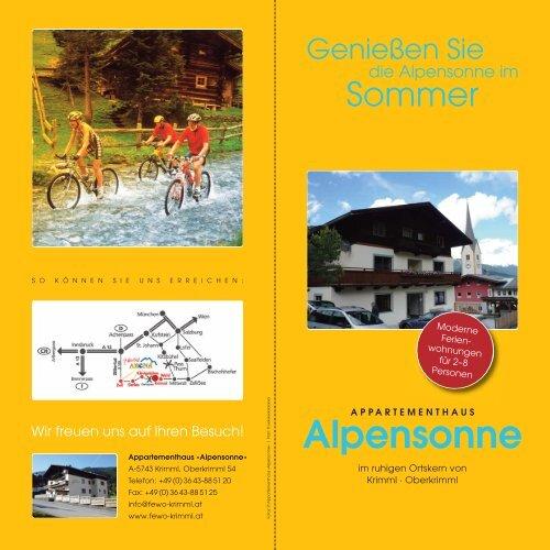 Download starten - Haus Alpensonne