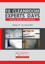 10. CLEANROOM - Reinraum Akademie