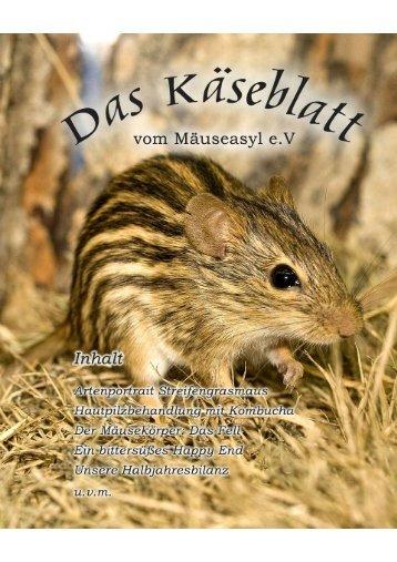 Das Käseblatt 1/08 Seite 1 - Das Mäuseasyl