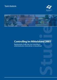 Controlling im Mittelstand 2007 - Commit Institut