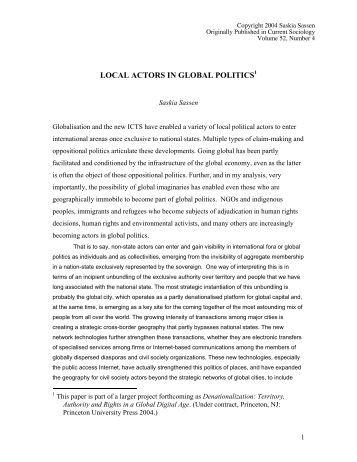 saskia sassen global city pdf