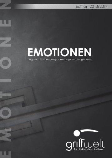 Gesamt Katalog Griffwelt - EMOTIONEN 2013/2014