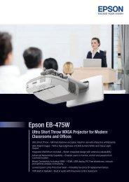 PDF Brochure - Epson
