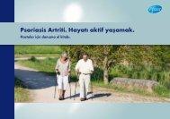 Psoriasis Artriti. Hayatı aktif yaşamak.