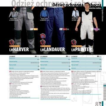 Odzież ochronna i robocza - FH Lider