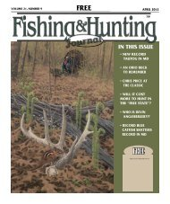Free - Fishing and Hunting Journal