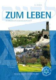 Zum Leben - Sächsische Israelfreunde eV