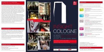 Programm Insight Cologne - Orgatec