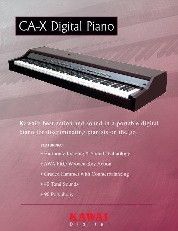 CA-X Digital Piano - Kawai
