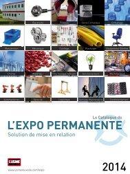 Catalogue de L'Expo Permanente 2014