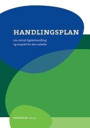 Handlingsplan om etnisk ligebehandling og respekt ... - Ny i Danmark