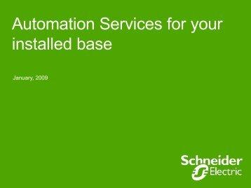Automation Services - Schneider Electric